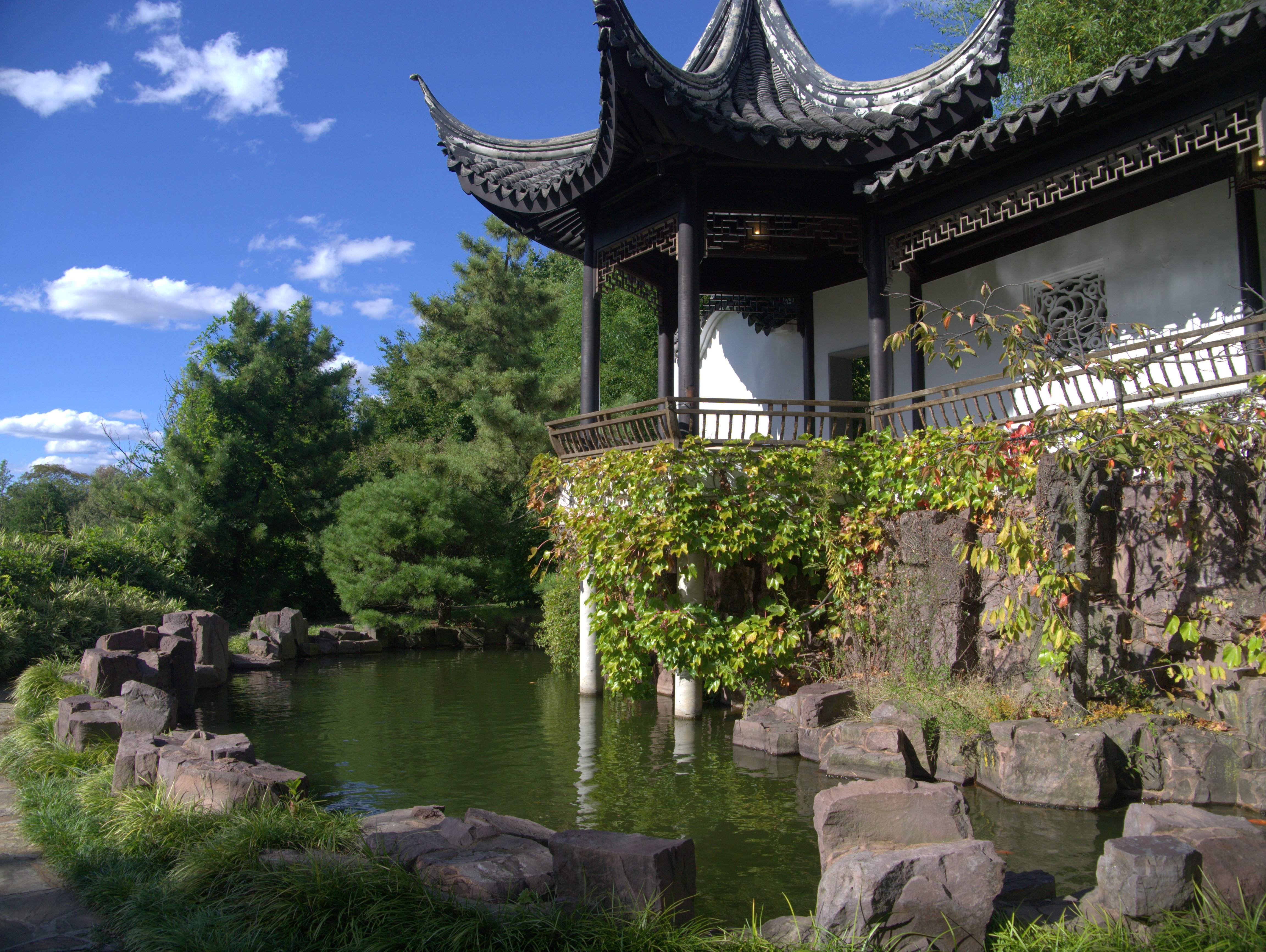 the chinese scholar garden at the staten island botanical garden - Staten Island Botanical Garden